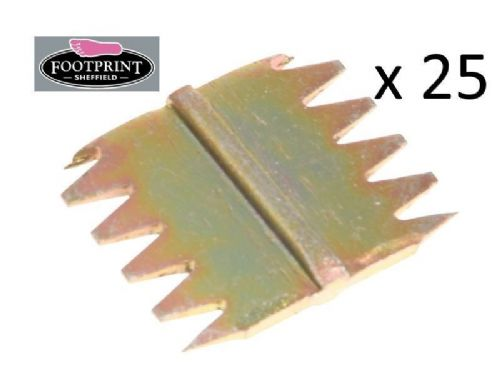 "25 x Footprint Tools Scutch Chisel Combs 38mm 1.5"" Wide Bulk Pack Sheffield UK"